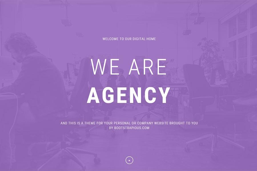 Agency - Portfolio Template